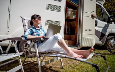 10 Tips for Working From Home in your Boat or Campervan