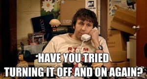 ITcrowd Off and On Again