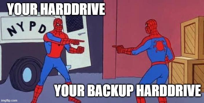 spider man mirror meme