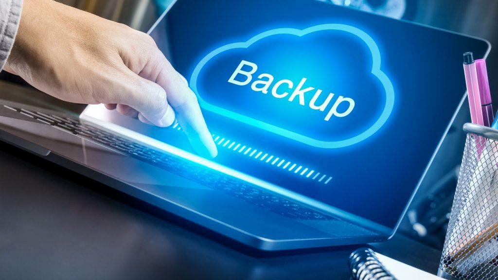 backing up laptop