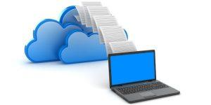 cloud backup visualization