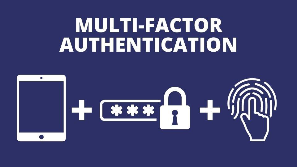 Multi Factor Authentication diagram